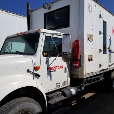 Mobile Boiler Truck